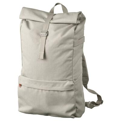 DRÖMSÄCK Backpack, beige, 21 l