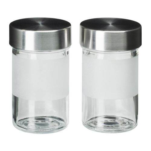 DROPPAR Spice jar IKEA Transparent in parts; makes it easy to find what you're looking for, no matter where the jar is placed.
