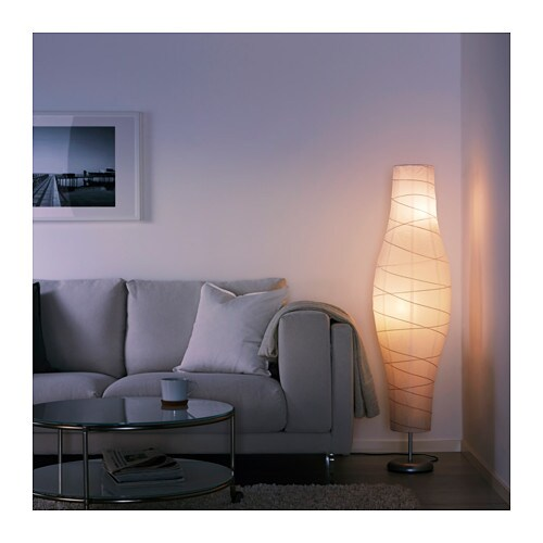 IKEA DUDERÖ floor lamp Gives a soft mood light.