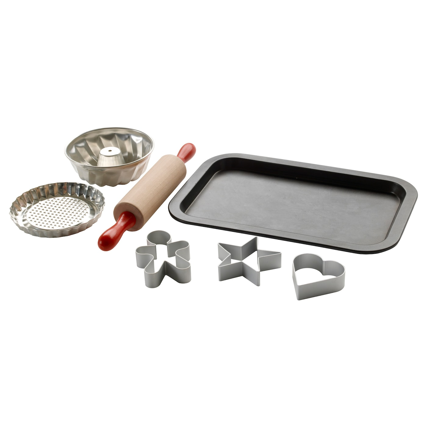 IKEA DUKTIG 7-piece toy baking set