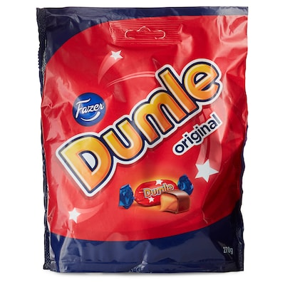 DUMLE Chocolate covered toffees