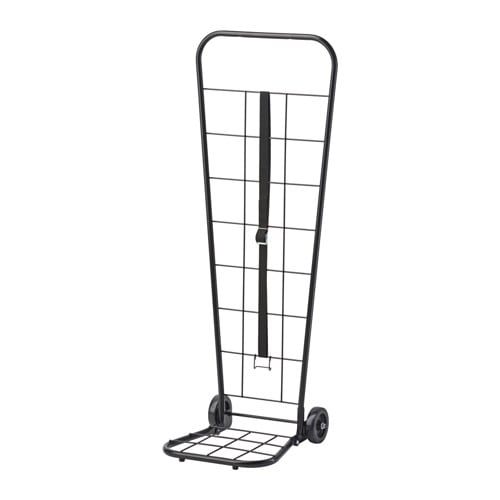 IKEA DUNSÖN trolley/trellis The strap with buckle helps you secure the load on the trolley.