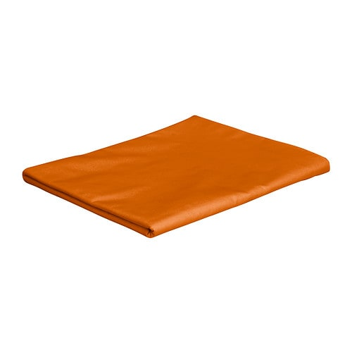 DVALA Sheet Orange 150×260 cm  IKEA