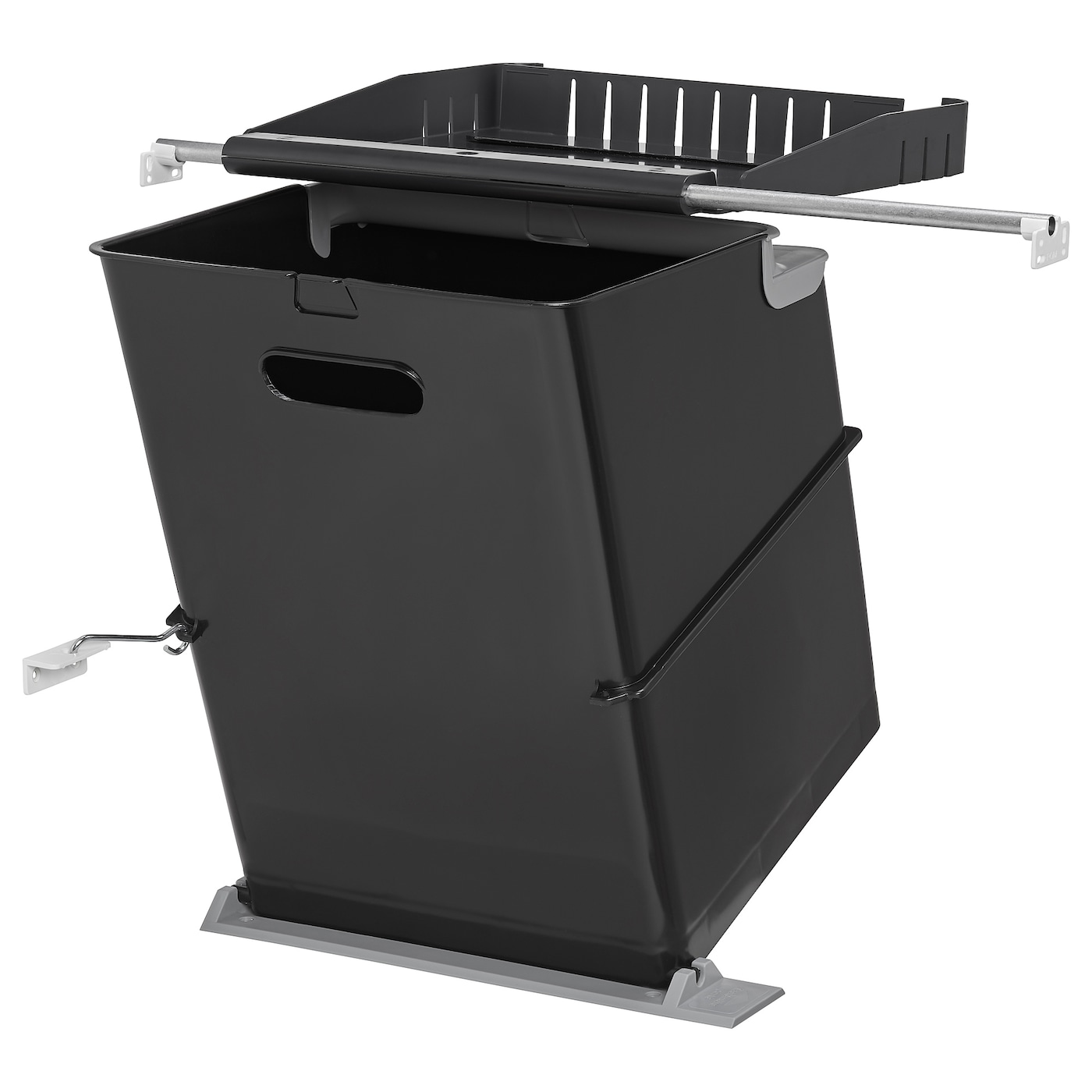 IKEA EBBEBO waste bin for cabinet with door