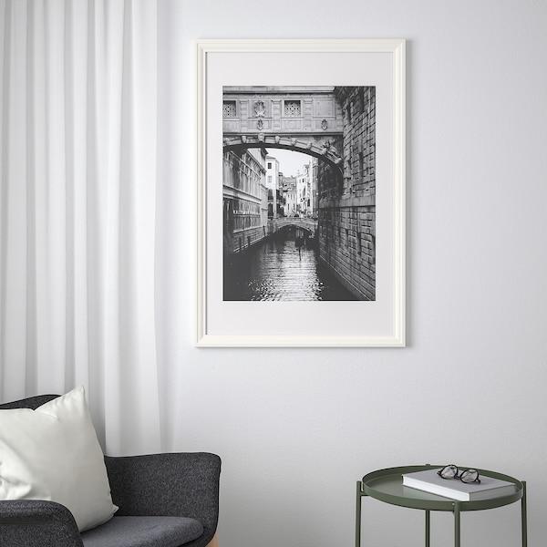 EDSBRUK frame white 61 cm 91 cm 50 cm 70 cm 49 cm 69 cm 68 cm 98 cm