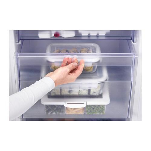 ikea effektfull integrated fridge freezer a. Black Bedroom Furniture Sets. Home Design Ideas