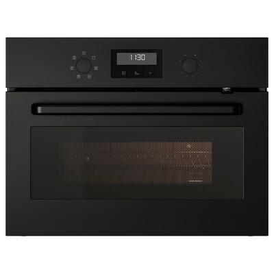 EFTERSMAK Microwave oven, black