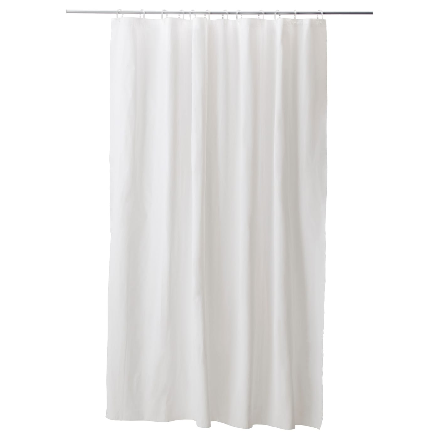 IKEA EGGEGRUND Shower Curtain Can Be Easily Cut To The Desired Length Zoom In