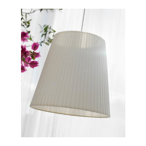 IKEA EKÅS lamp shade The textile shade provides a diffused and decorative light.