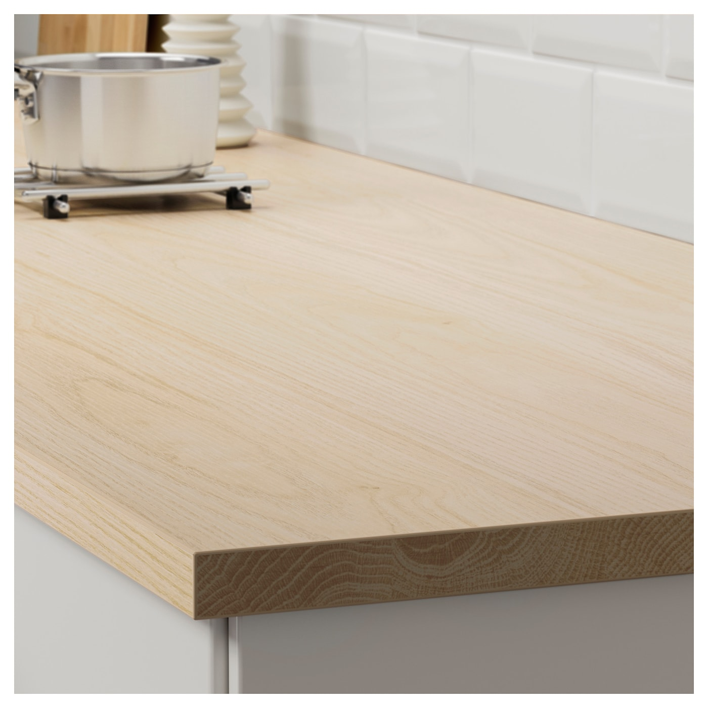 IKEA EKBACKEN custom made worktop 25 year guarantee. Read about the terms in the guarantee brochure.