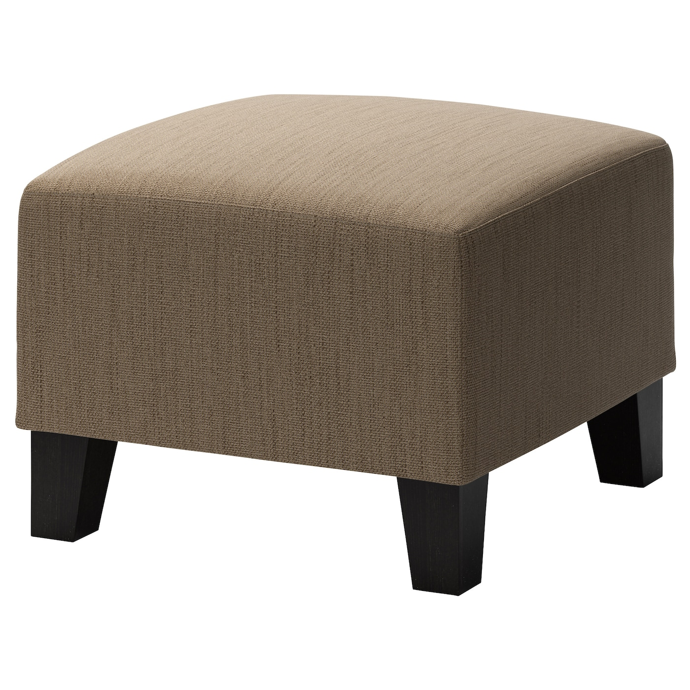 Eken 196 S Footstool Hensta Light Brown Ikea