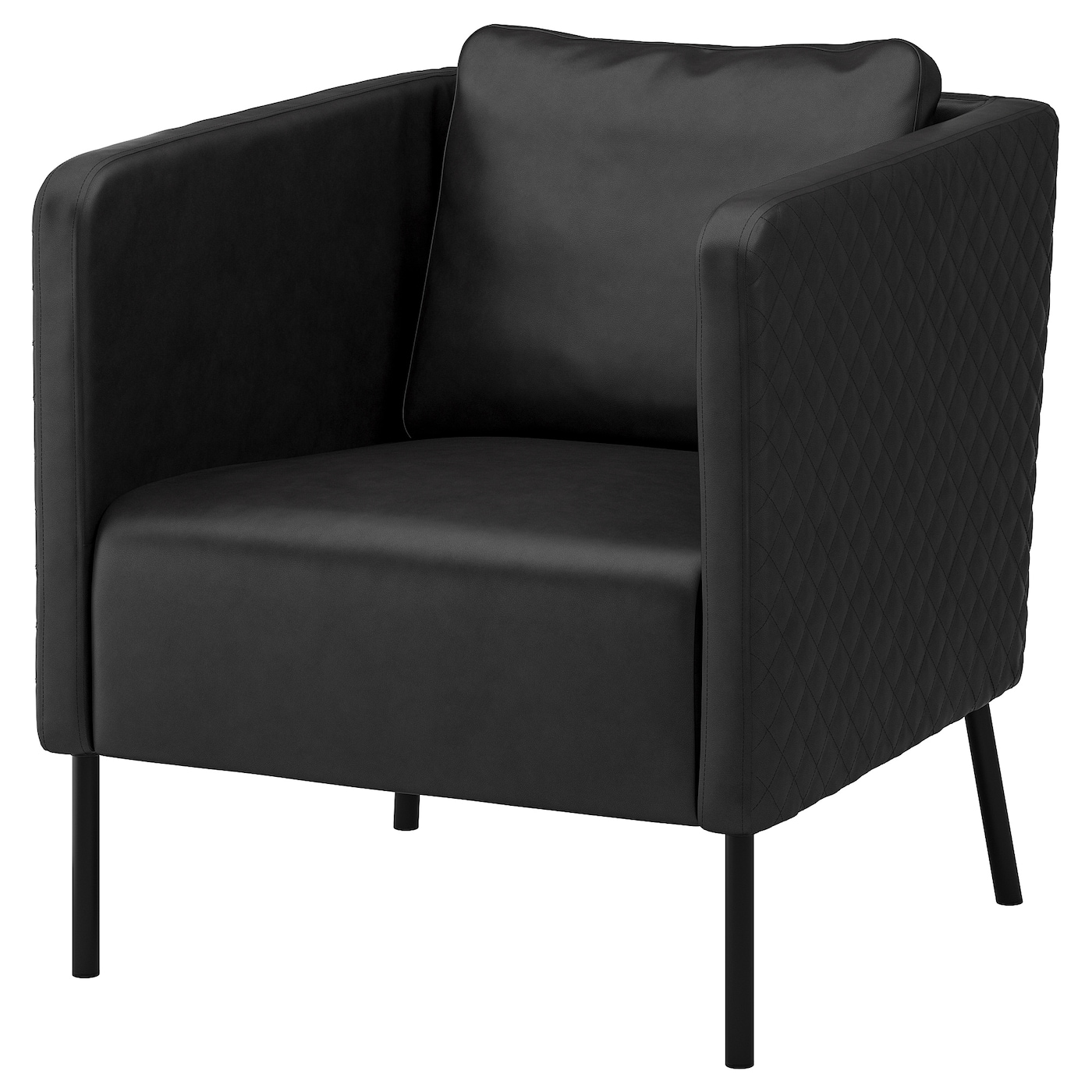 IKEA EKERÖ armchair The cover is easy to keep clean as it can be wiped clean with a damp cloth.