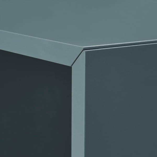 EKET Cabinet, grey-turquoise, 35x35x35 cm