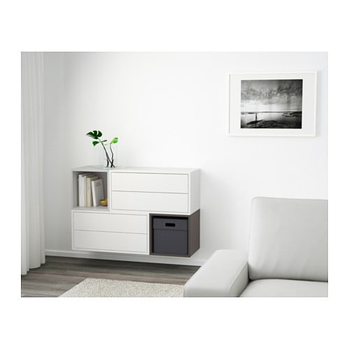 IKEA EKET wall-mounted cabinet combination