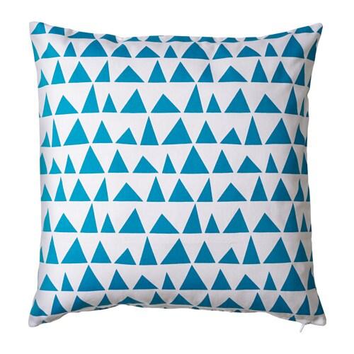 eksnabbvinge cushion cover blue 50x50 cm ikea. Black Bedroom Furniture Sets. Home Design Ideas