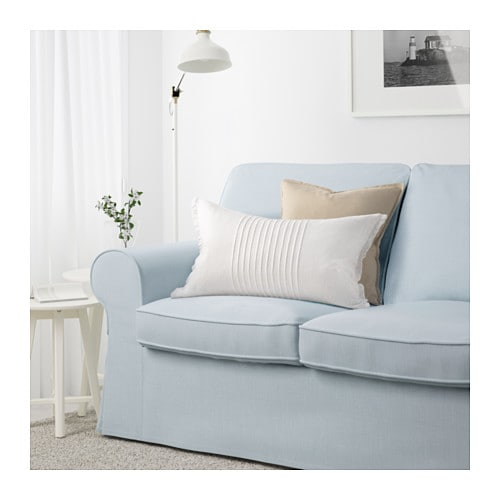 Light Blue Couch : IKEA EKTORP three-seat sofa 10 year guarantee. Read about the terms in ...