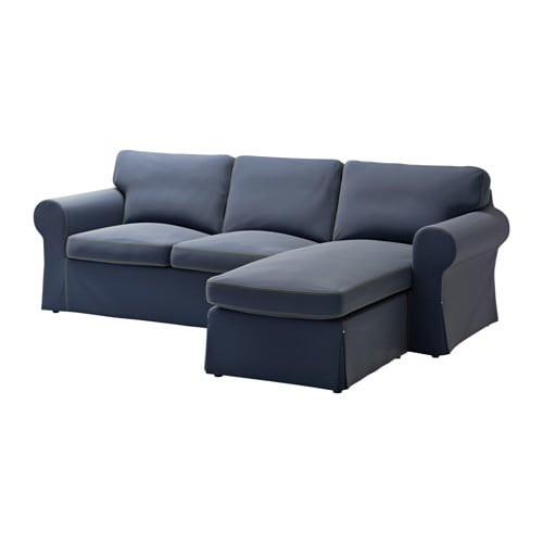 Ikea Ektorp Two Seat Sofa And Chaise Longue
