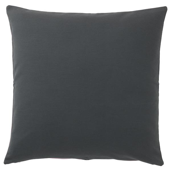 ELDTÖREL cushion cover pink/multicolour 50 cm 50 cm