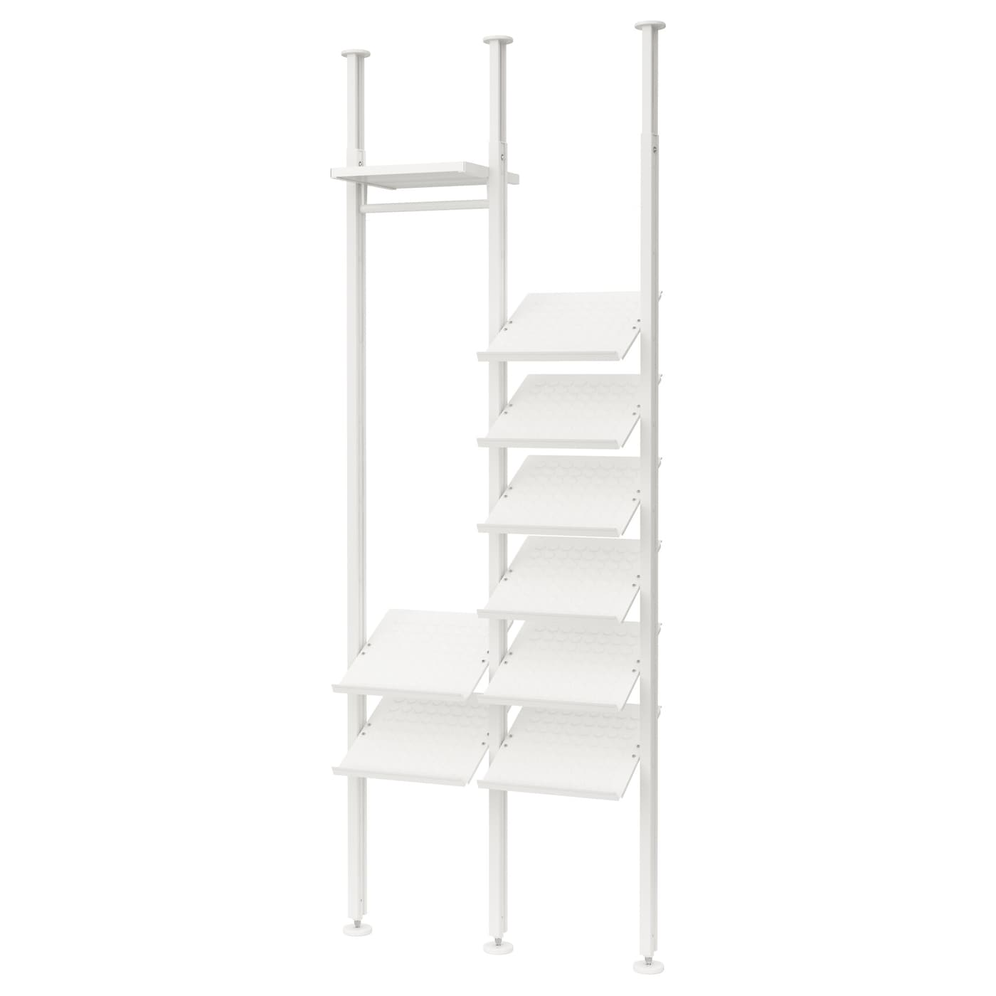 IKEA ELVARLI 2 sections Customise the space with the adjustable shelf.