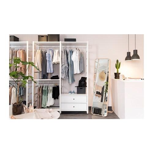 elvarli 2 sections white 165x55x216 cm ikea. Black Bedroom Furniture Sets. Home Design Ideas