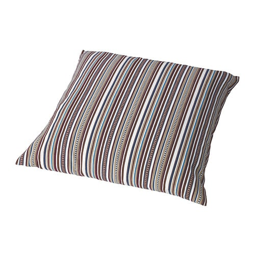 ELVILDA Cushion cover IKEA The yarn is raised slightly from the surface, giving the fabric a handcrafted look.