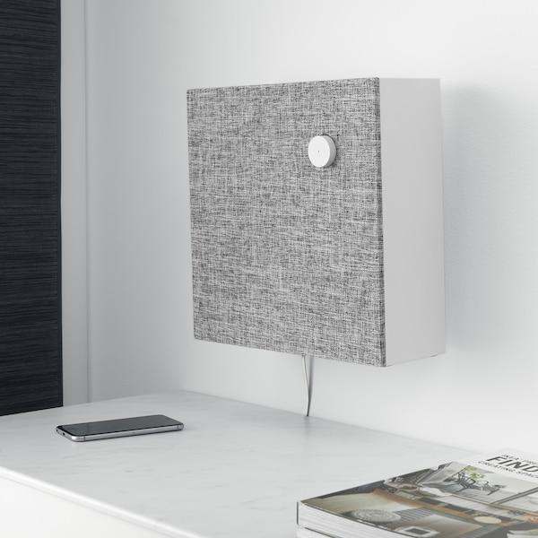 ENEBY Bluetooth speaker, white, 30x30 cm