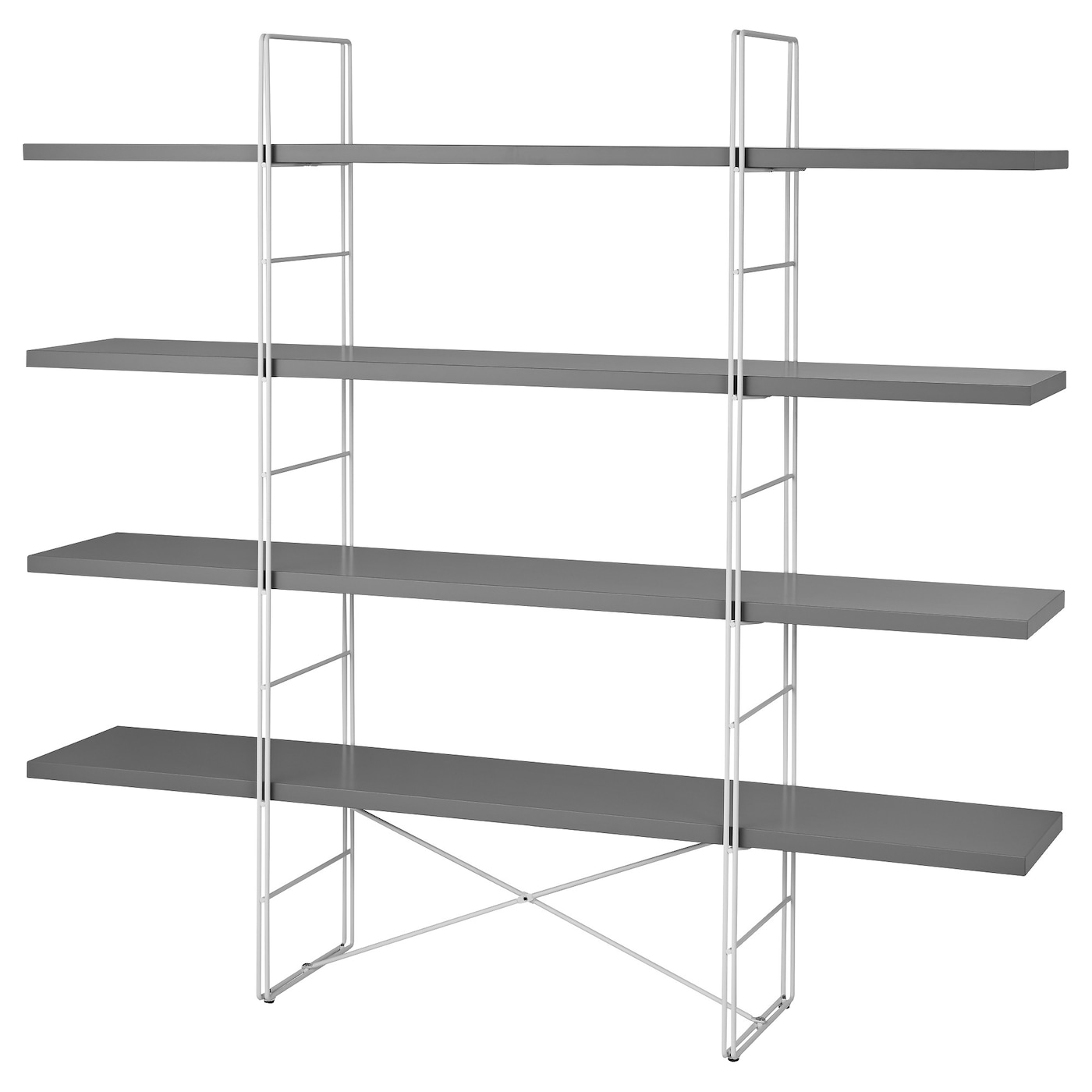 Ikea Enetri Shelving Unit Adjule Feet Stands Steady Also On An Uneven Floor Easy