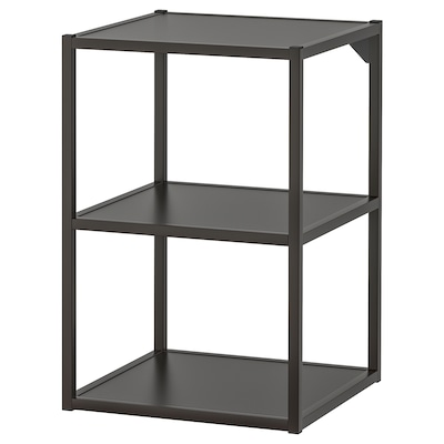 ENHET Base fr w shelves, anthracite, 40x40x60 cm