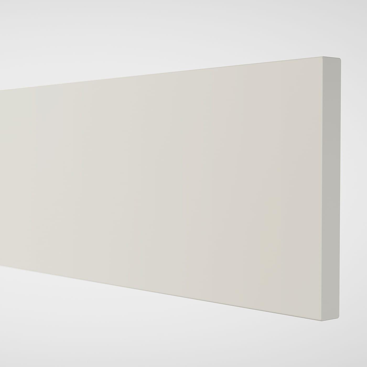 ENHET Drawer front for base cb f oven, white, 60x14 cm