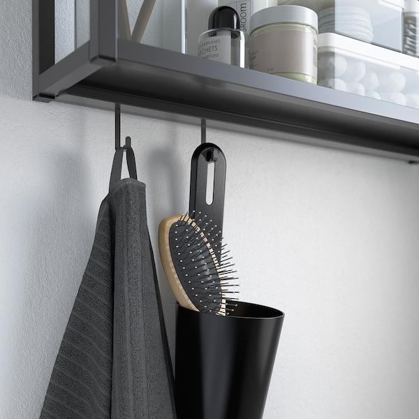 ENHET Rail for hooks, anthracite, 37 cm