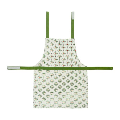 IKEA ENIGT children's apron The neck-band can be adjusted to fit everybody.