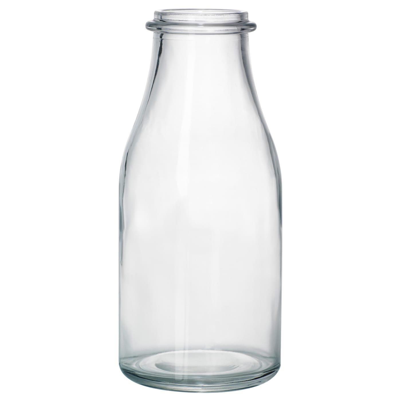 ensidig vase clear glass 18 cm ikea. Black Bedroom Furniture Sets. Home Design Ideas