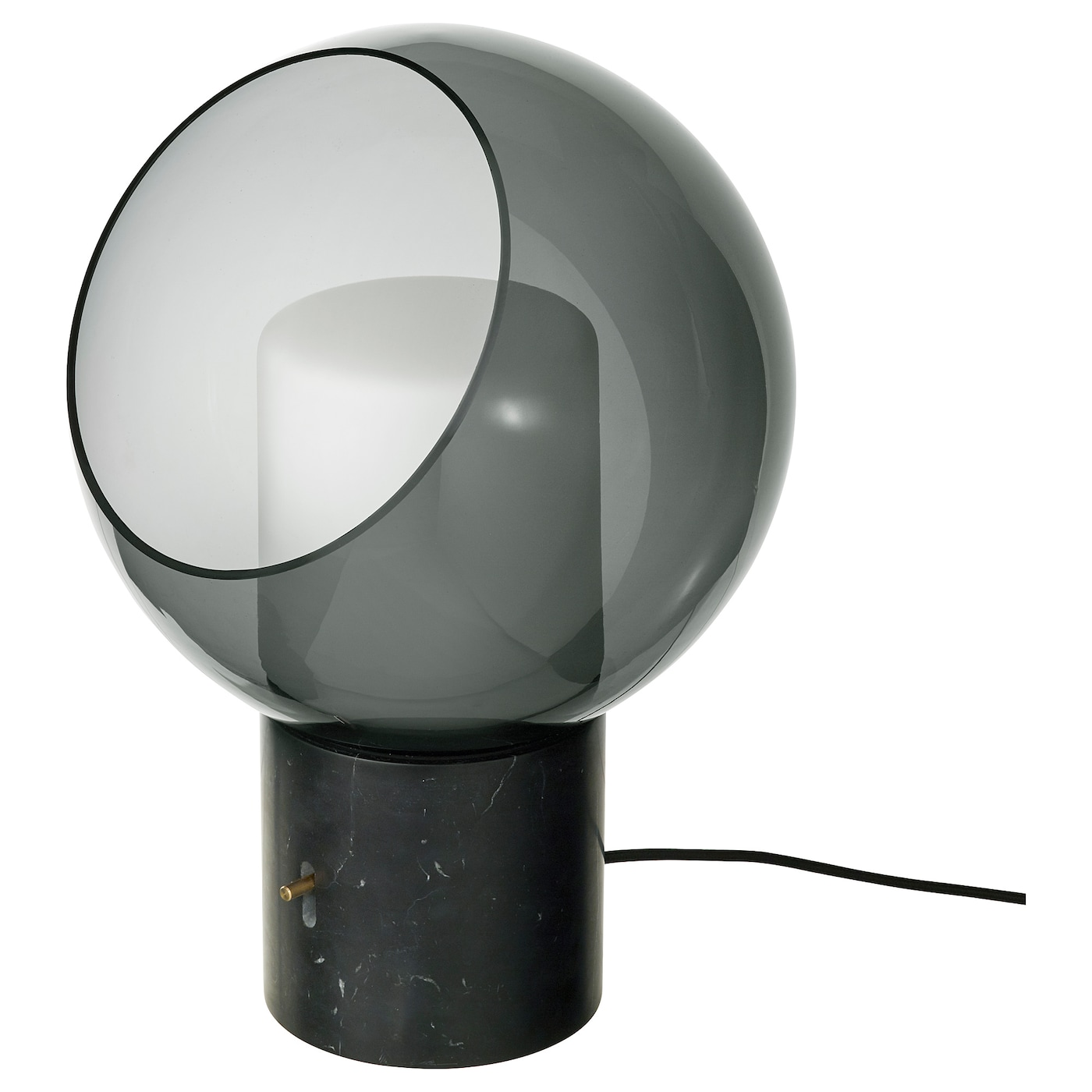 IKEA EVEDAL table lamp If you want to dim the light, press the power switch up or down.