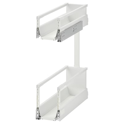 EXCEPTIONELL Pull-out interior fittings, white, 20 cm