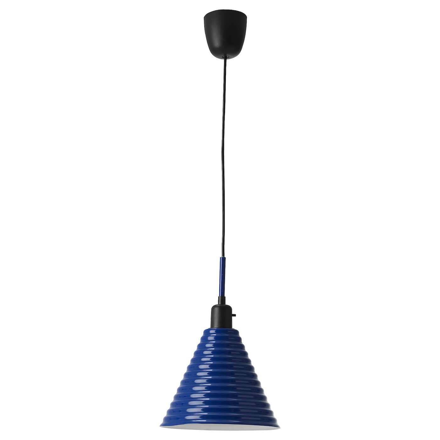 IKEA FÄRGSTARK pendant lamp Can be switched on and off with a switch on top of the shade.