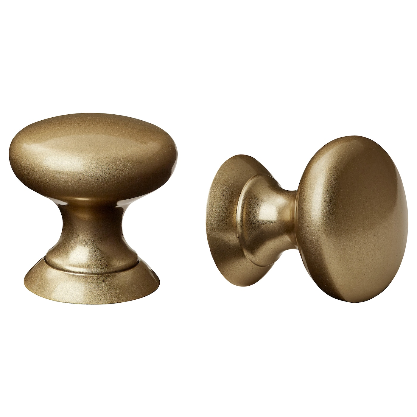 IKEA FÅGLAVIK knob These brass knobs give a good grip and add a traditional touch to your kitchen.