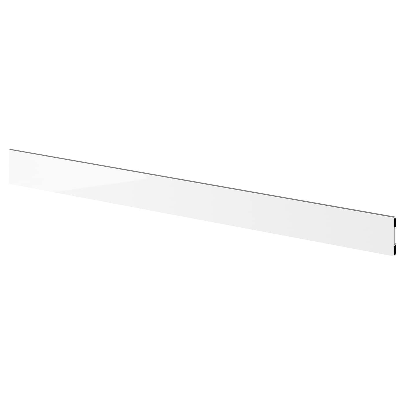 IKEA FÖRBÄTTRA plinth Covered with high-gloss foil; gives an easy care finish.