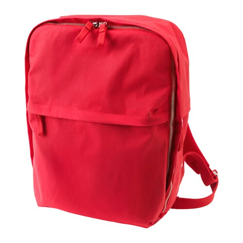 IKEA FÖRENKLA backpack Protect your tablet by placing it in the separate padded compartment.