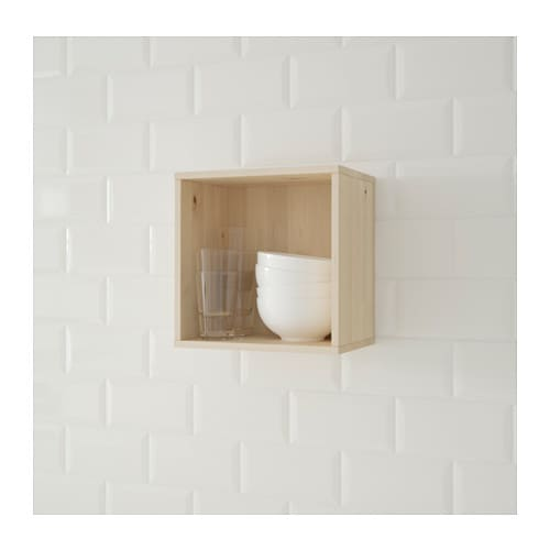 IKEA FÖRHÖJA wall cabinet Can be hung under a wall cabinet or on the wall.