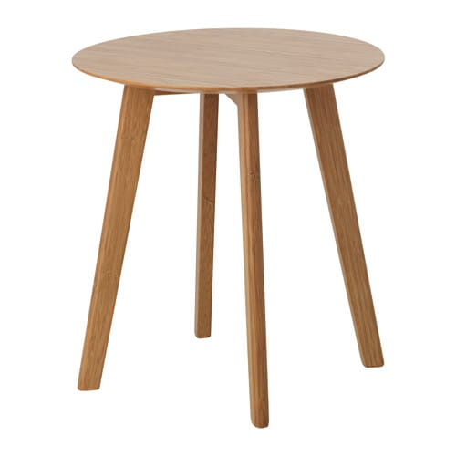 Finede side table bamboo 40 cm ikea for Table exterieur 40 cm