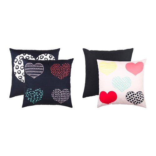IKEA FINEMANG cushion You can easily vary the look because the two sides have different designs.