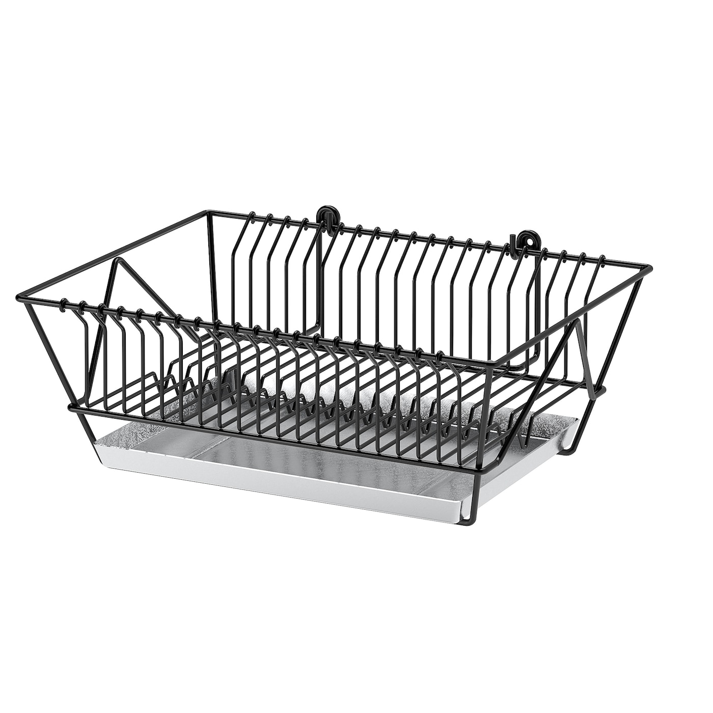 IKEA FINTORP dish drainer Can be hung on the wall or placed on the worktop.