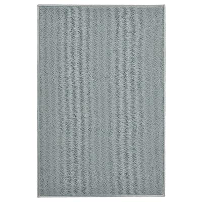 FINTSEN Bath mat, grey, 40x60 cm