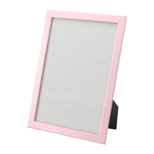 Fiskbo Frame Pink 21x30 Cm Ikea