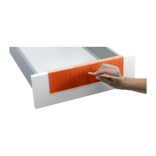 Fixa Drill Template Orange Ikea