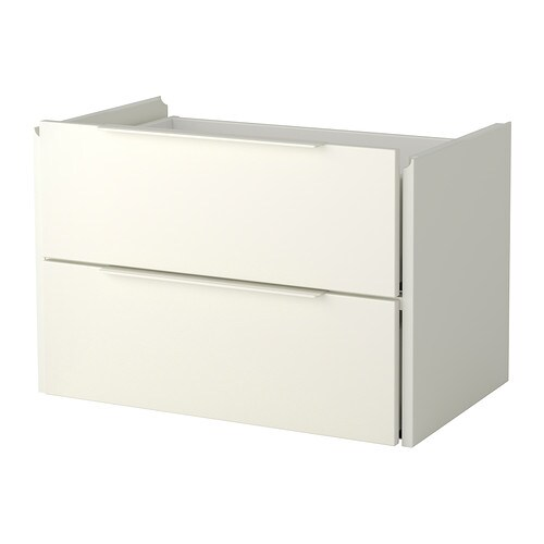 IKEA FJÄLKINGE drawer unit with 2 drawers