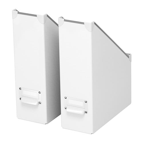 Fjlla Magazine File White Ikea