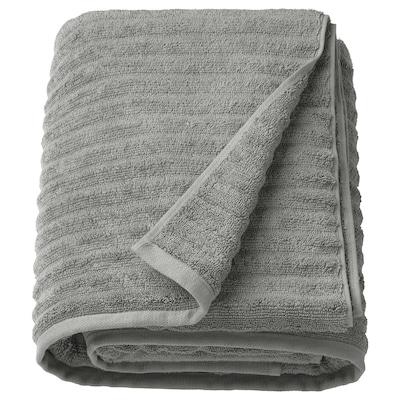 FLODALEN bath sheet grey 150 cm 100 cm 1.50 m² 700 g/m²