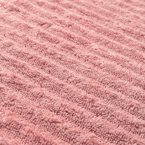 FLODALEN washcloth light pink 700 g/m² 30 cm 30 cm 0.09 m²