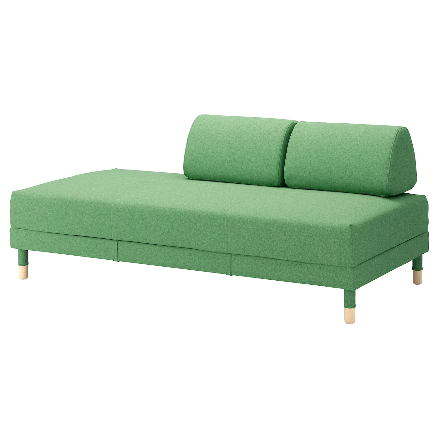 flottebo sofa bed lysed green 90 cm ikea For90 Cm Sofa Bed